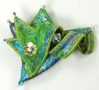 brooch-green-blue
