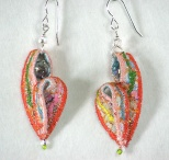 earrings-pink-salmon-orange