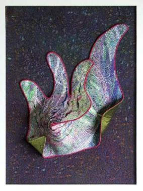 textile-art-relief-awakening