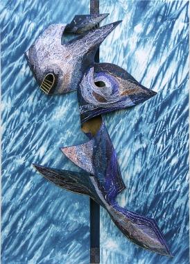 textile-art-relief-dragon